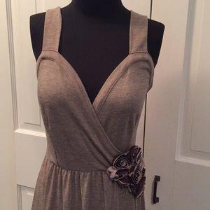 Anthropologie Deletta Corsage Twirl Dress